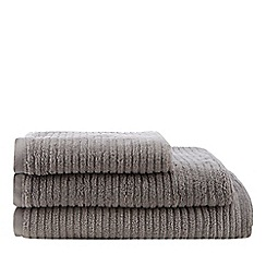 Home Collection - Grey rib towel
