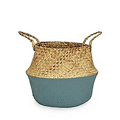 Home Collection - Green 'Nordic' storage basket
