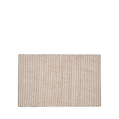 Christy - Pale pink 'Burlington' striped bath mat