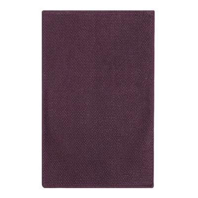 308010682255: Dark Purple Bobble Bath Mat