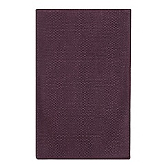 Debenhams - Dark Purple Bobble Bath Mat