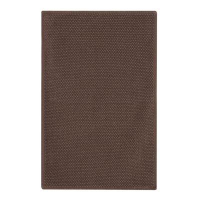 308010682288: Chocolate Brown Bobble Bath Mat