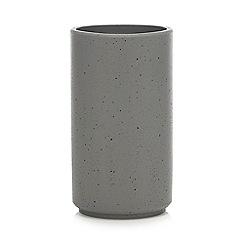 Debenhams - Grey Resin Toilet Brush Holder