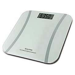 Salter - White 'Ultimate Accuracy' electronic scales