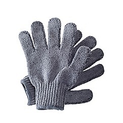 Hydrea London - Bamboo carbonized exfoliating shower gloves
