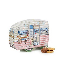 Debenhams - Caravan Shaped Biscuit Tin - 400g