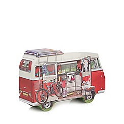 Debenhams - Campervan Shaped Cookie Tin - 450g