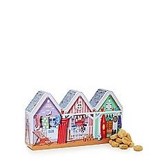 Novelty Bisc Tins - Beach Huts' biscuit tin gift set - 300g