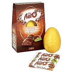 Nestle - 'Aero' giant Easter egg with 3 chocolate bars - 308g
