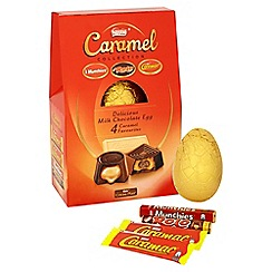 Nestle - 'Caramel Collection' giant Easter egg with 4 chocolate bars - 364g