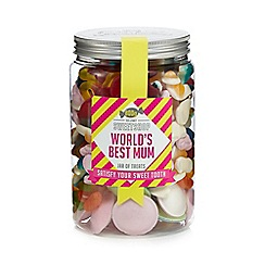 Sweet Shop - 'Worlds Best Mum' jar of sweets - 800g