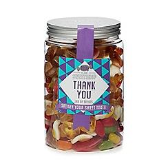 Sweet Shop - 'Thank you' jar of treats - 880g