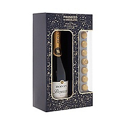 Debenhams - Prosecco and chocolates set