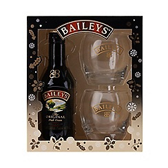Baileys - Original irish cream 20cl and 2 tumblers