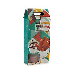 Debenhams - Churro maker with chocolate sauce
