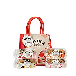Border Biscuits - 'Oat Crumbles' gift selection with jute bag - 675g
