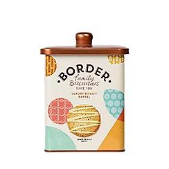 Border Biscuits - 'Luxury' biscuits barrel - 600g