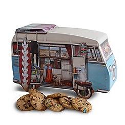 Debenhams - Campervan shaped novelty biscuit tin - 450g