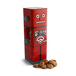 Debenhams - Talking Robot Biscuit Selection Tin