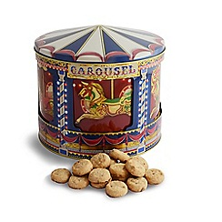Debenhams - Rotating Musical Carousel Biscuit Tin