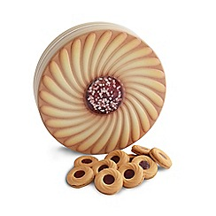 Debenhams - Jam sandwich cream shaped novelty biscuit tin - 450g