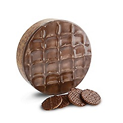 Debenhams - Chocolate Digestive Shaped Biscuit Tin