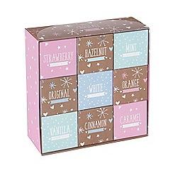 Debenhams - Gift box of 9 hot chocolates