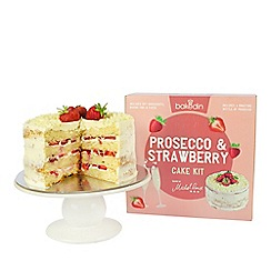 Bakedin - Prosecco and strawberry cake kit
