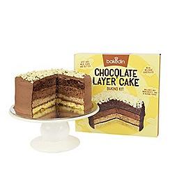 Bakedin - Chocolate layer cake kit