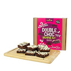 Baked In - Double chocolate brownie kit