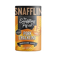 Snaffling Pig - Marvellous maple pork crackling sharing tube