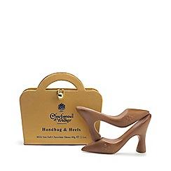 Charbonnel et Walker - Handbag and Heels Milk Sea Salt Chocolate Shoes