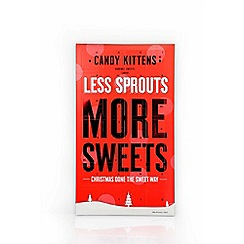 Candy Kittens - Less sprouts more sweets advent calendar - 336g