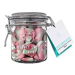 Candy Kittens - Sour watermelon gourmet sweets gift jar