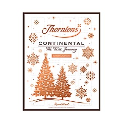 Thorntons - 'Continental' Advent calendar chocolates - 282g