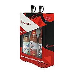 Nando's - PERi-PERi 2 Sauces and Salt Gift Set