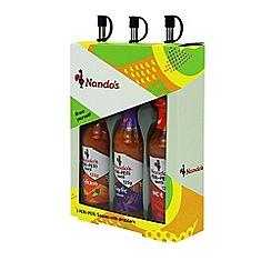 Nando's - PERi-PERi 3 Sauce Gift Set