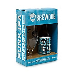 Beer & Lager - Brewdog glass and beer - 900g