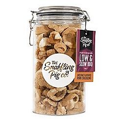 The Snaffling Pig - Low and slow BBQ pork crackling jar