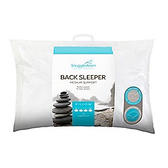 Snuggledown - 'Back Sleeper' clusterfibre pillow