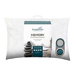 Snuggledown - 'Memory' microfibre pillow