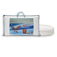 Snuggledown - 'Posture Perfect' supersoft foam pillow