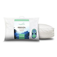 Snuggledown - 'Oriental' anti-allergy hollowfibre pillow