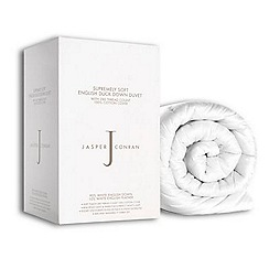 J by Jasper Conran - 13.5 tog 'Supremely Soft' natural duck down all seasons duvet (4.5 + 9 tog)