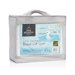 Fine Bedding Company - Travel cot bed liner