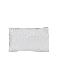 Home Collection Set Of Two White Pillow Protectors