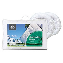 Fine Bedding Company - 12 tog 'Quick to Dry' microfibre all season duvet