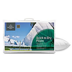 Fine Bedding Company - 'Quick to Dry' microfibre pillow