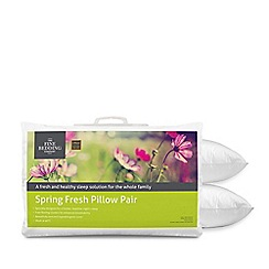 Fine Bedding Company - 'Spring Fresh' Pillow Pair