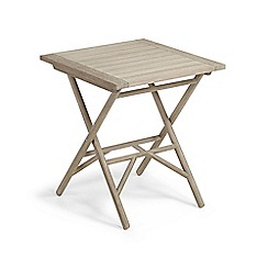Debenhams - 'La Forma' folding bistro table